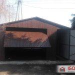 Garaż blaszany 5x7m