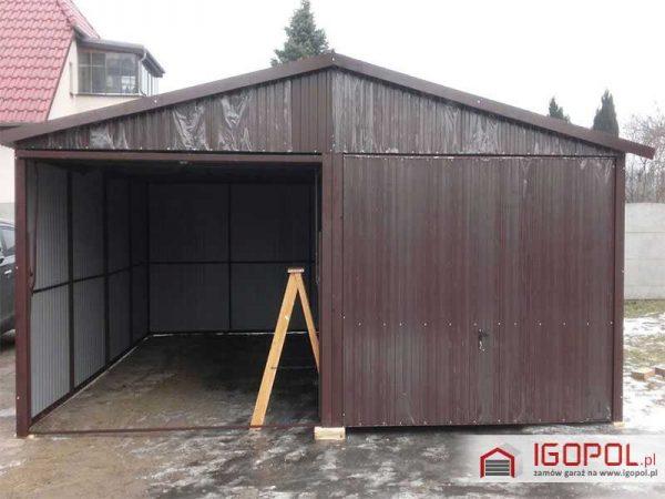 Garaz-blaszany-6x5,5m-dwuspadowy-3