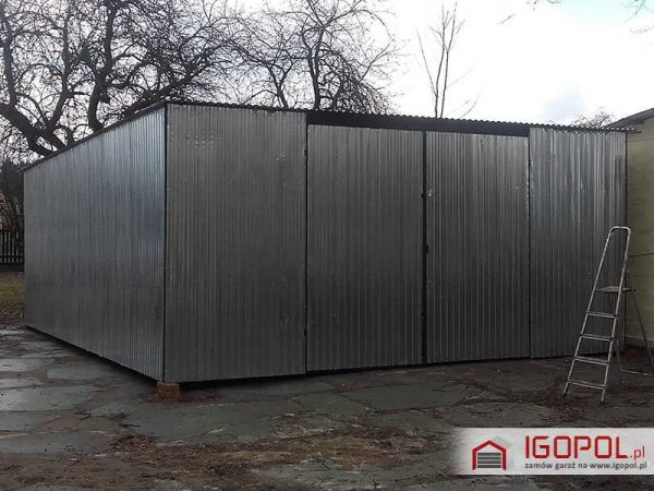 Garaz-blaszany-6x7m-ocynk-spad-w-tyl-3