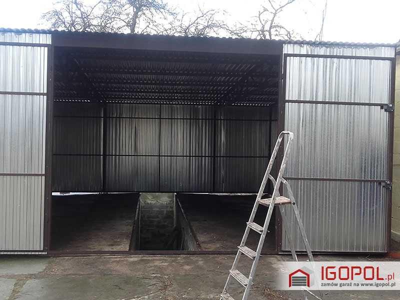 Garaz-blaszany-6x7m-ocynk-spad-w-tyl-4