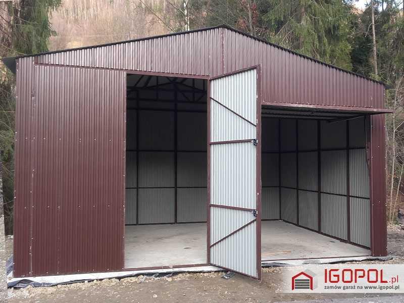 Garaz-blaszany-dwuspadowy-7x6m-3