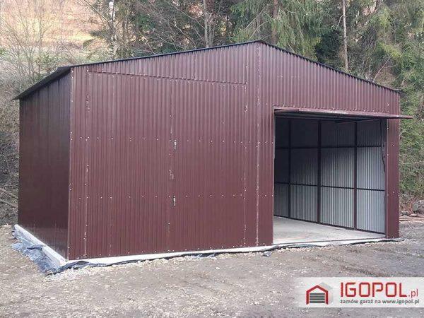 Garaz-blaszany-dwuspadowy-7x6m-4