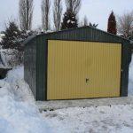 Garaż blaszany 3.5x6m